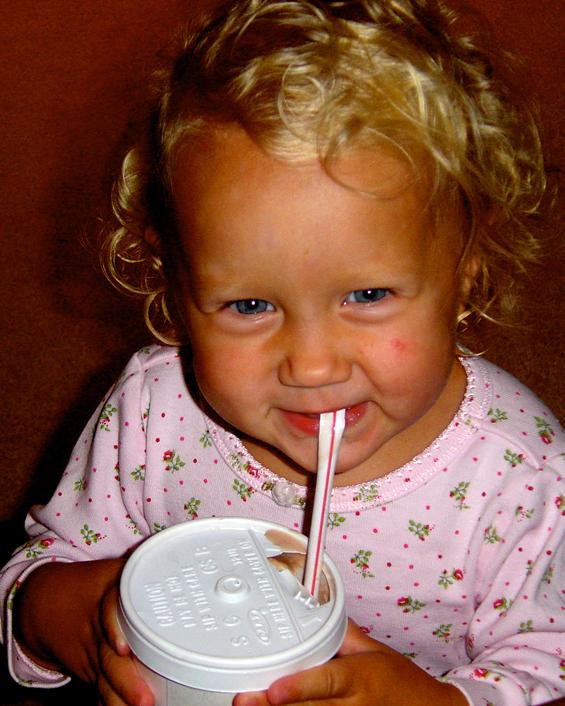 Emily-Drinking